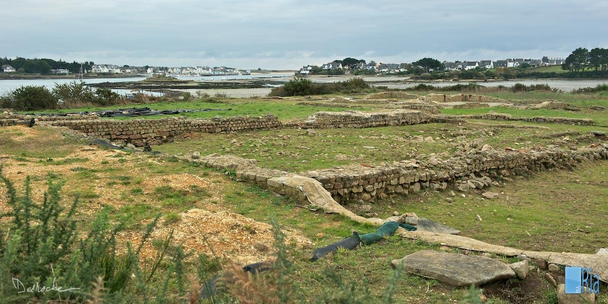 Mané-Véchen, la villa maritime gallo romaine